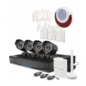 Swann DVR8-3425 8 Channel 1TB 4X PRO-735 CCTV Camera Kit Ala