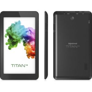 Hipstreet Titan 4 Quad Core Android 5.0 Lollipop 7 inch Tablet PC With Web Camera 8GB Bluetooth Black