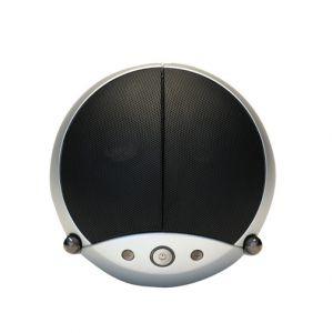 VestaLife LadyBug II 2 Speaker Dock iPod iPhone Aux In MP3 Player Mobiles - Silver