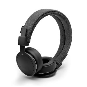Urbanears Plattan ADV Wireless Bluetooth Lightweight Foldable Headphones - Black