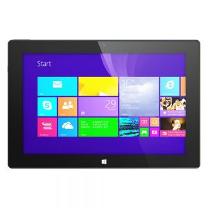 Tablets: HipStreet W10 Pro Windows 8.1 Tablet Convertible Laptop 32GB 2GB Quad Core Black