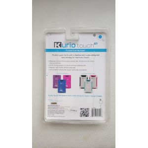 Tablet Accessories: Kurio Touch 4S Pocket Protective Bumper Silicon Skin Absorb Impact - Blue