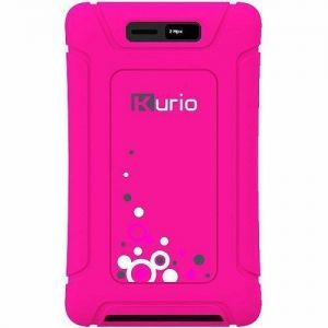 Tablet Accessories: Kurio Touch 4S Pocket Protective Bumper Silicon Skin Absorb Impact - Pink