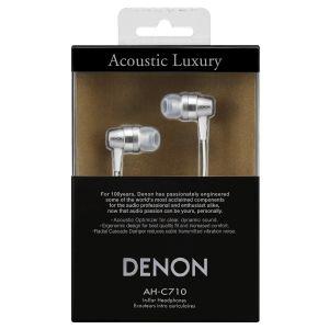 Denon AHC710 Premium In Ear Headphones Acoustic Earphones Apple iPhone Andr...