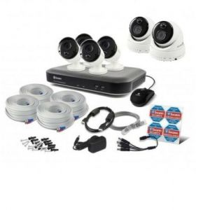 : Swann 4980 DVR 8 Channel 2TB 5MP Bullet Dome 6 Camera CCTV Kit SWDVK-849804B2D