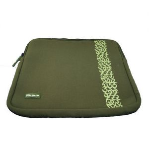 Targus Green Tribal Laptop Skin Neoprene Notebook Bag Sleeve up to 15....