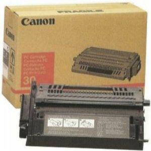 Printer Accessories: Original Genuine Canon PC 30 Black Toner Cartridge 1487A003 F41-2602-040