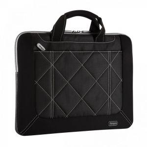 Laptop Accessories: Targus Pulse TSS586EU Slimline 14.1 inch Ultrabook Laptop Case Netbook Sleeve Black