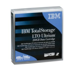 IBM TotalStorage LTO Ultrium 200GB Data Cartridge PN 08L9870 Blue