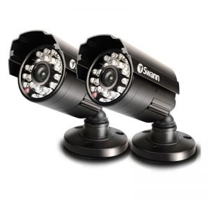 CCTV: Swann PRO-615 X2 Day Night Vision 650 TVL Waterproof LED Security Camera CCTV BB