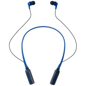 Headphones: SKULLCANDY INK'D Wireless Bluetooth In-Ear Headphones Mic Lightweight Upto 8 Hr Battery Life - Blue