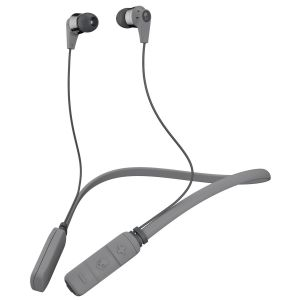 SKULLCANDY INK'D Wireless Bluetooth In-Ear Headphones Mic Lightweight Upto 8 Hr Battery Life - Grey