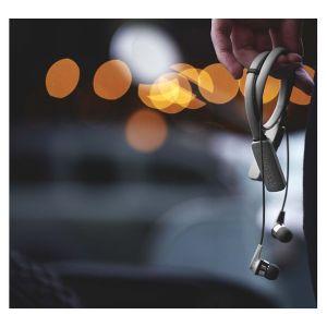 Headphones: SKULLCANDY INK'D Wireless Bluetooth In-Ear Headphones Mic Lightweight Upto 8 Hr Battery Life - Grey/Green