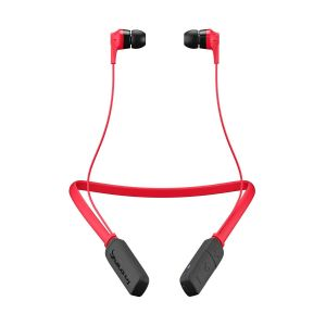SKULLCANDY INK'D Wireless Bluetooth In-Ear Headphones Mic Lightweight Upto 8 Hr Battery Life - Red/Black