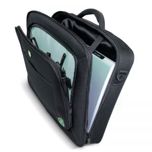 Laptop Accessories: Port Designs CHICAGO Eco Top Loading Clamshell Laptop Bag 400501 15.6 inch Black