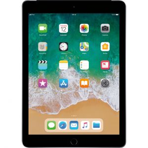 Tablets & Accessories: Apple iPad (6th Gen) 9.7 inch Retina 32GB iOS Tablet Wi-Fi + Cellular - A1954 Space Gray