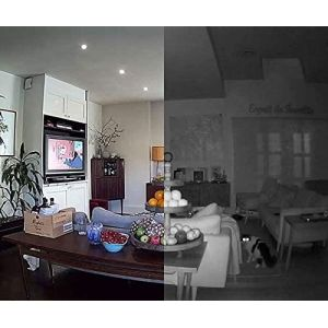CCTV Cameras: Swann WIFI ALERTCAM 1080p Indoor Security CCTV Camera Mic Motion Night Full HD