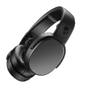 SKULLCANDY CRUSHER Wireless Rechargeable Headphones Bluetooth Mic - Black