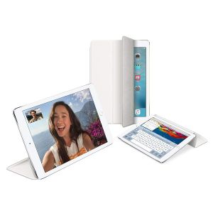 iPad Cases: Official Genuine Apple iPad Air 1 2 Magnetic Smart Cover Stand - White