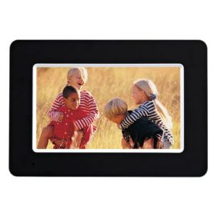 Photo Frames: Agfaphoto AF5075 7 inch Digital Photo Frame Colour SD USB Interchangeable LCD White