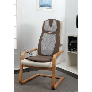 Homedics SBM-555H Shiatsu Upper Lower Back Shoulder Rolling Heat Massage Chair