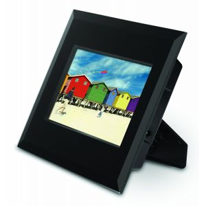 Digital: Polaroid 7 inch Digital Photo Frame Black Glass XSU-00710B Colour 16:9 USB
