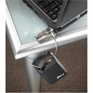 Laptop Stands: Targus DEFCON Notebook Security Retractable Combination Cable Lock 1.2m - ASP03EU