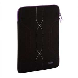 Targus Pulse Laptop Sleeve for 10-12.1 inch Laptop - Black/Purple