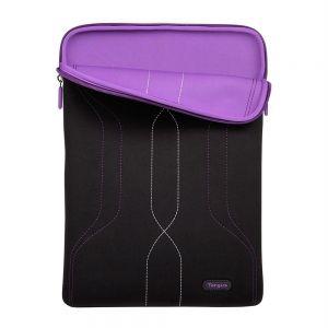 Laptop Accessories: Targus Pulse Laptop Sleeve for 10-12.1 inch Laptop - Black/Purple