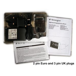 iPod & MP3: Kensington K39258EU Bedside Nightstand and iPhone Charging Dock for iPhone 3 4 4S iPod with 30 pin