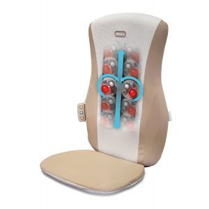 Homedics SBM-185H Shiatsu Upper Lower Back Shoulder Rolling Heat Massage Chair