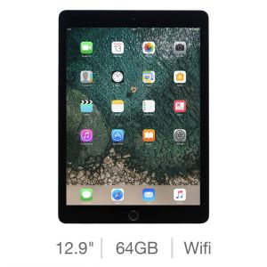 Tablets & Accessories: Apple iPad Pro 12.9 inch (2nd Gen) Retina 64GB Wi-Fi iOS Tablet A1670 (2017) - Space Gray