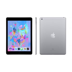 Tablets & Accessories: Apple iPad (6th Gen) 9.7 inch 32GB Wi-Fi iOS Tablet A1893 MR7F2B/A (2018) - Space Gray