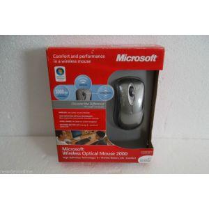 Keyboard & Mice: Microsoft Wireless Optical Mouse 2000 X1517195 Grey