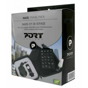 Laptop Accessories: Port Designs NAOS Travel Pack Notebook Accessories Num Keypad Mouse 4 Port USB