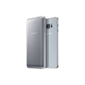 Genuine Samsung Galaxy S6 Edge Plus 3400mA Wireless Charger Battery Pack Case Silver