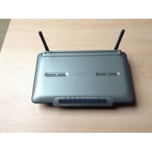 ADSL Routers - Wireless: Belkin F5D9630-4 108Mbps 4-Port 10/100 Wireless G+MIMO ADSL Modem Router Only No PSU