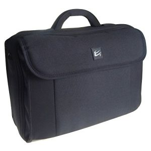 Case Gear Pro Case Deluxe business Laptop Carrying Case Fits Up to 18 inch Notebook Bag Black