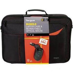 Laptop Accessories: Targus Laptop Bag BEU3121-02p 18 inch Notbook Case & Retractable Optical Mouse Bundle