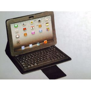 Tuff Luv Bluetooth Keyboard Folding Leather Folio Case Galaxy Tab 3 Tablet 10.1 inch