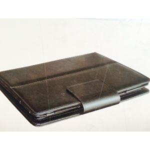 Samsung Galaxy Accs: Tuff Luv Bluetooth Keyboard Folding Leather Folio Case Galaxy Tab 3 Tablet 10.1 inch