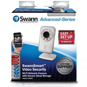 Swann ADS-450 IPC SwannSmart Wi-Fi Network CCTV Camera Secure Cloud Storage...