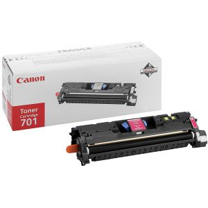 Original Genuine Canon 701 Laser Printer Magenta Toner Cartr