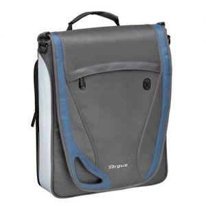 Laptop Accessories: Targus TBM003EU 15.4 inch Free Spirit Vertical Messenger Laptop Bag Business Travel