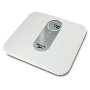 Salter MiBaby Mother & Baby Electronic Digital Bathroom Scale 9042WH White