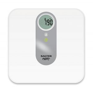 PC Hardware: Salter MiBaby Mother & Baby Electronic Digital Bathroom Scale 9042WH White