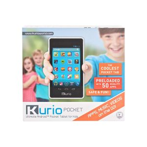 Tablets: Kurio Pocket Kids 4 inch Android Tablet 50 Apps Preloaded Red 8GB