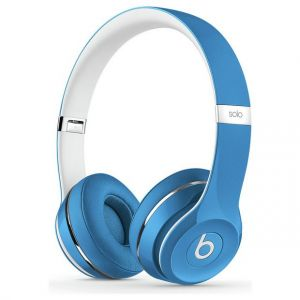Genuine UK Stock Apple Beats by Dr. Dre Solo 2 Headphones Luxe Edition - Blue