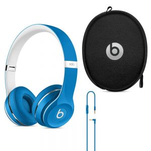 Full Size: Genuine UK Stock Apple Beats by Dr. Dre Solo 2 Headphones Luxe Edition - Blue
