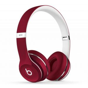 Genuine UK Stock Apple Beats by Dr. Dre Solo 2 Headphones Luxe Edition - Red